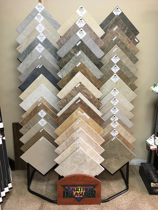 Earthen Treasures Tiles